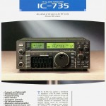 The original IC-735 brochure.  Click to enlarge.