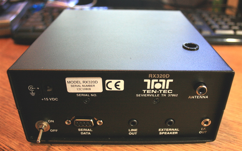 The Ten Tec Rx 320d A Little Black Box With Big Punch on test ham radio receiver