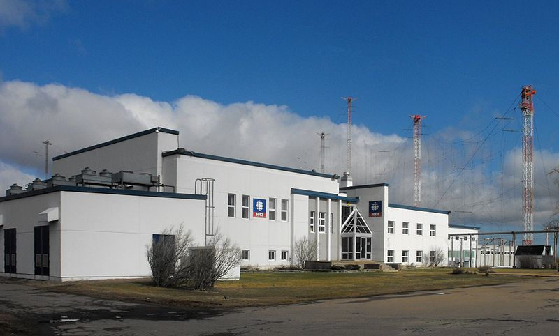 Radio Canada International's Sackville, New Brunswick shortwave transmitter site. (photo: Wikimedia Commons)