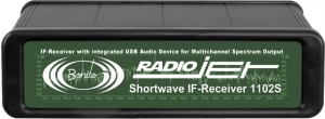 The Bonito 1102S RadioJet IF receiver