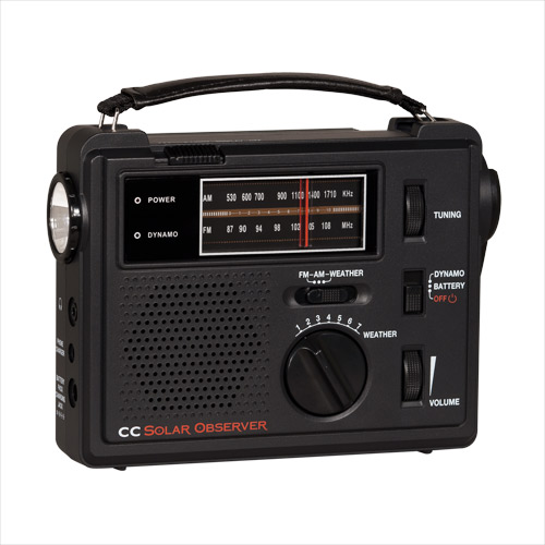 C Crane CC Solar Observer, COBS - Universal Radio