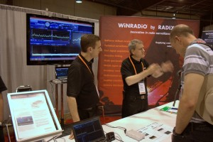 WinRadio's booth in the East Hall.