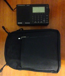 The Spec-Ops Pack-Rat makes for an ideal radio gear bag and easily accommodates the Grundig G3
