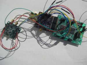 HackRF prototype (Source: ossmann.blogspot.com)
