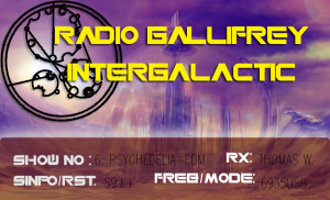 QSL from Radio Gallifrey Intergalactic