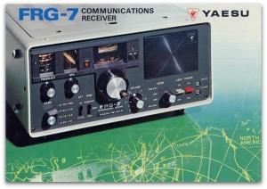 """The Yaesu FRG-7 """"Frog 7"""""""