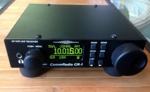 The CommRadio CR-1 software defined radio