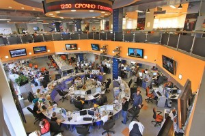 RIA Novosti Newsroom, Moscow (Source: Wikipedia)