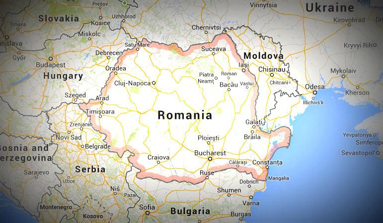 RomaniaMap