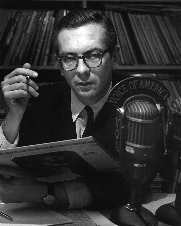 Willis Conover, The Voice of America (Source: Wikimedia Commons)