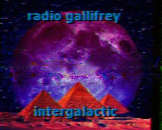 Radio Gallifrey Intergalactic SSTV QSL (Click to enlarge)