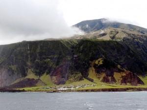 Edinburgh of the Seven Seas, Tristan da Cunha, South Atlantic Ocean (Source: michael clarke stuff)
