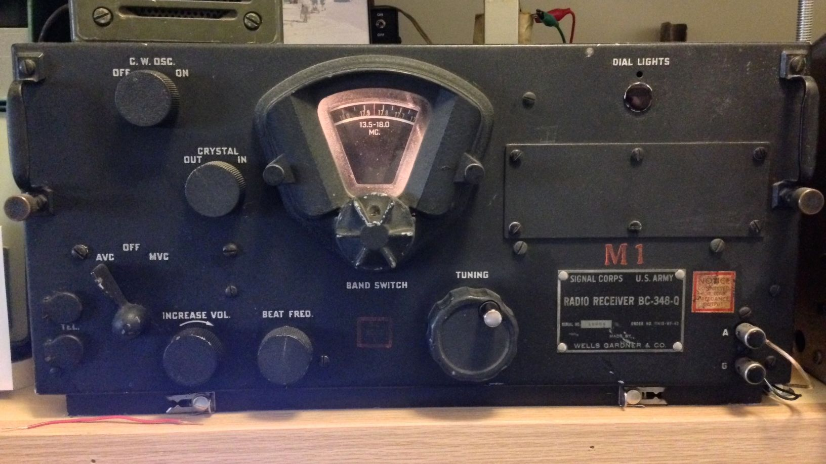 Swling With Heavy Metal My Signal Corps Bc 348 Q The