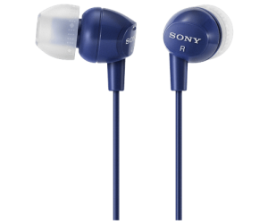Sony MDREX10LP in-ear headphones are inexpensive and effective.
