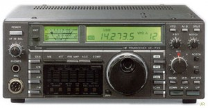 The Icom IC-735 general coverage transceiver