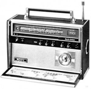 The Sony Earth Orbiter CRF-5100 (Source: Universal Radio)