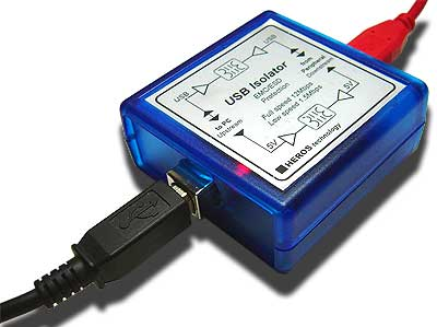 Heros Technology galvanic USB isolator