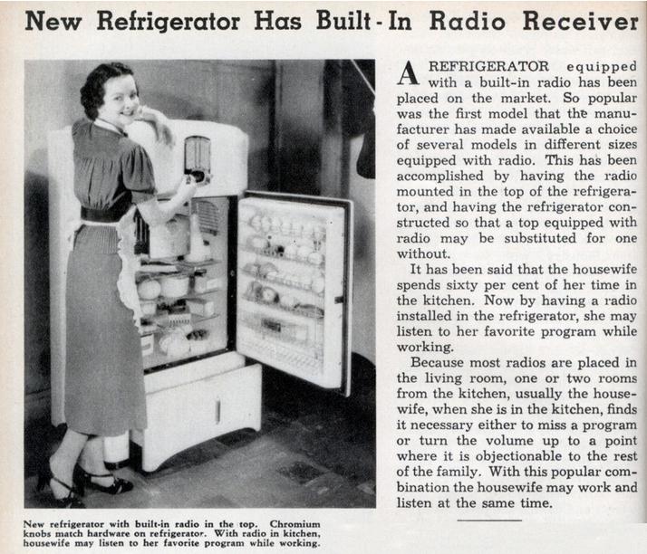 RefrigeratorRadio