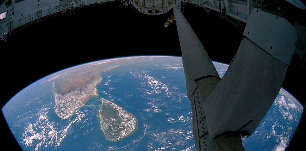 Sri Lanka as viewed from the International Space Station (Source: NASA)