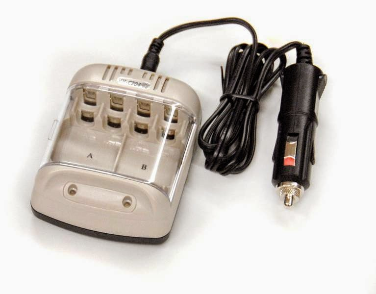 2. RA-3b - 12V Battery Charger Pack for AA and AAA
