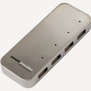 5. Powertraveller Spidermonkey 4-Port USB Charger Hub