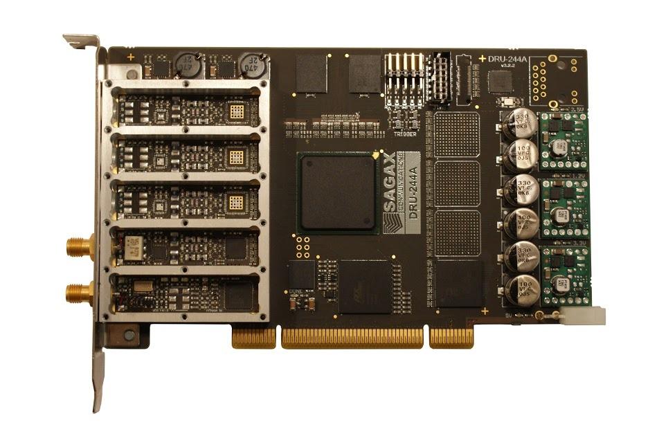 SAGAX DRU244A-1-1-PCI  Stock photo 15-Jan-2015