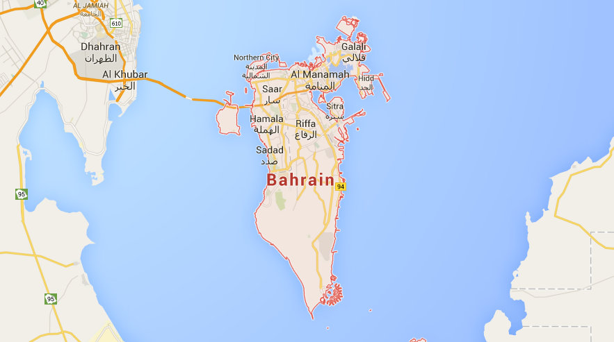 Where Is The Bahrain Islands On A World Map