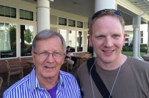 Bob Heil (left) me (right)