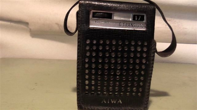 Very early AIWA pocket Transistor 6. Still works well.