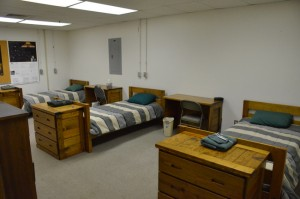 Typical PARI dorm room (click to enlarge)