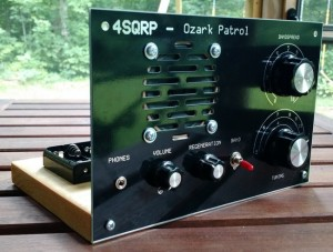 The Ozark Patrol regenerative receiver kit is only one of Dave's many 4SQRP kit designs.