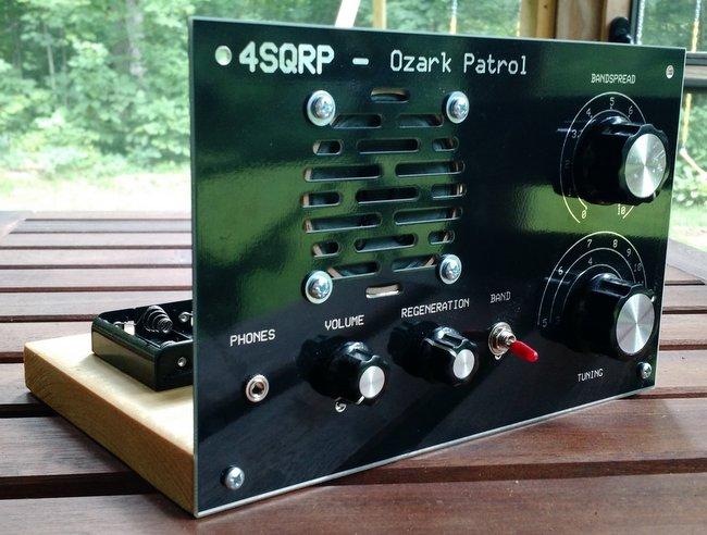 My Ozark Patrol regenerative receiver kit