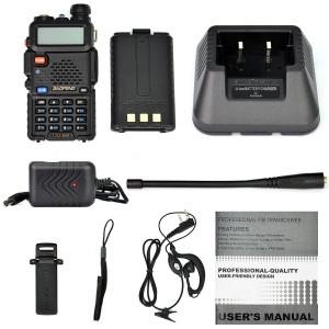 UV-5R accessories. Click to enlarge.