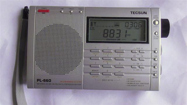 Tecsun PL660 modified Tuning knob 001