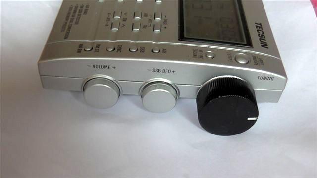Tecsun PL660 modified Tuning knob 002
