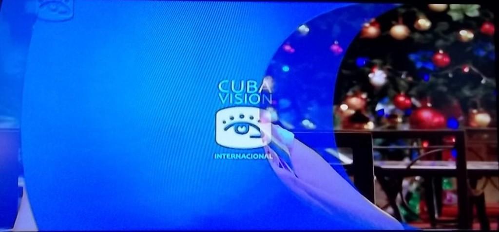 Cubavision International station identification.