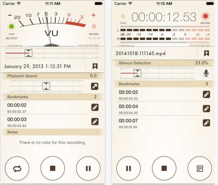 Voice Recorder Pro 7 Screenshots