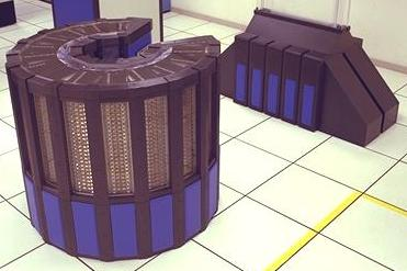 A Cray-2 operated by NASA. (Source: NASA)