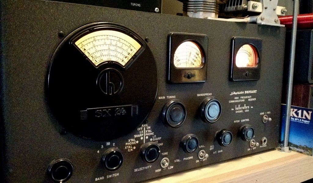 My Hallicrafters SX-24