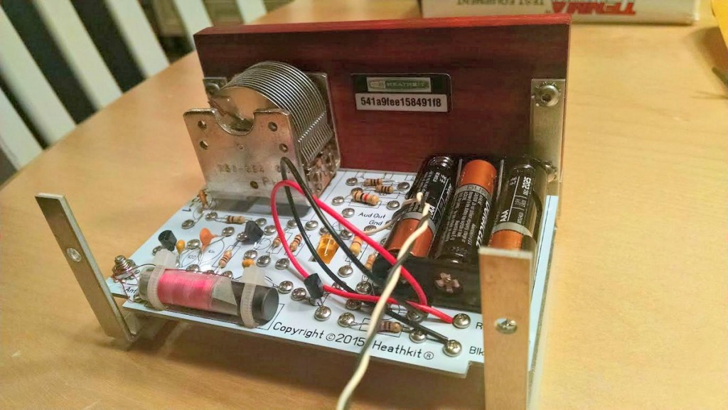 Heathkit Explorer Jr. Completed PCB mounted