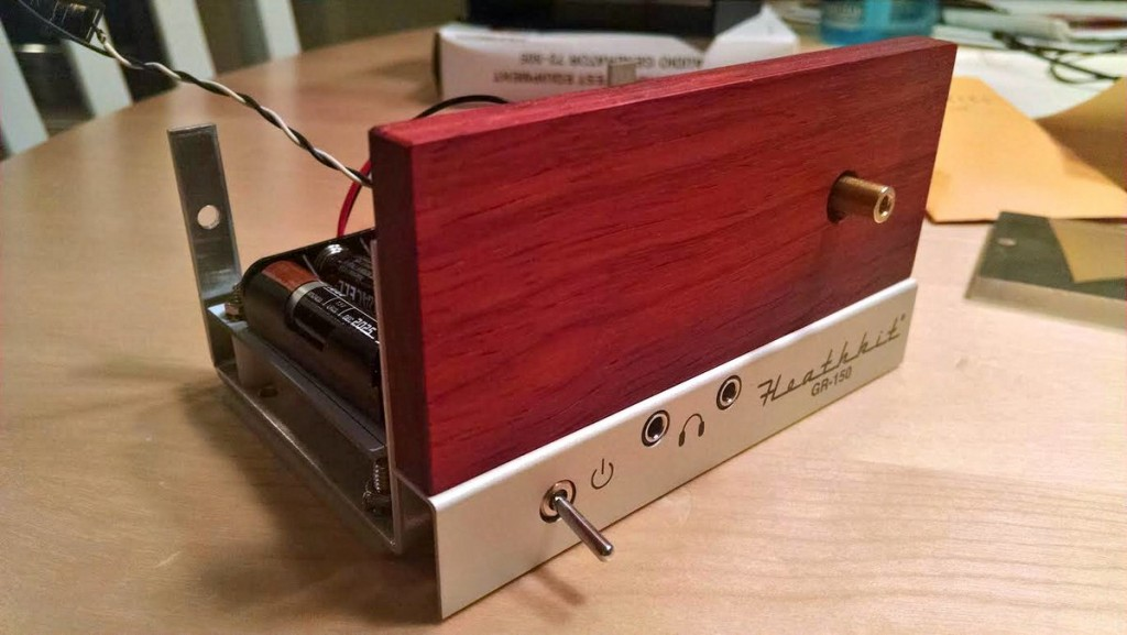 Heathkit Explorer Jr. Nearly finished front