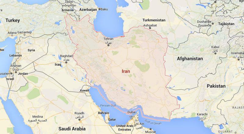 Iran-Map