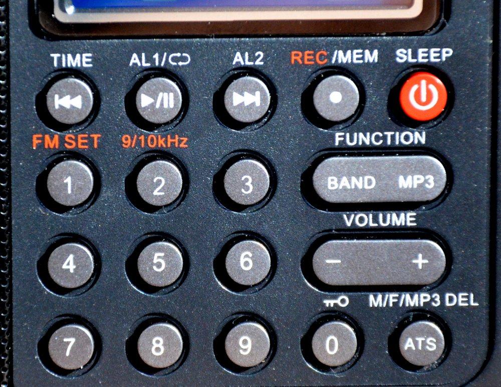 Kaito-KA108-Keypad
