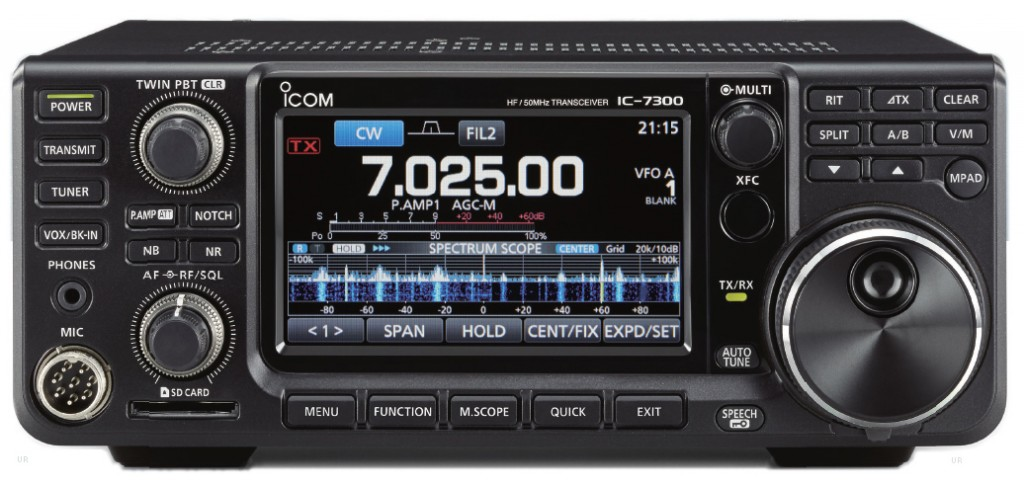 Icom Ic 7300 Retail Price And Shipping Dates Set The