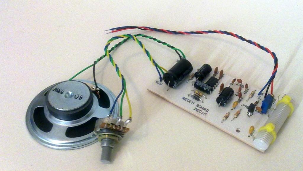 KRC-2 shortwave regenerative receiver kit3