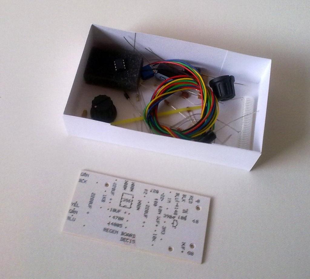 KRC-2 shortwave regenerative receiver kit4