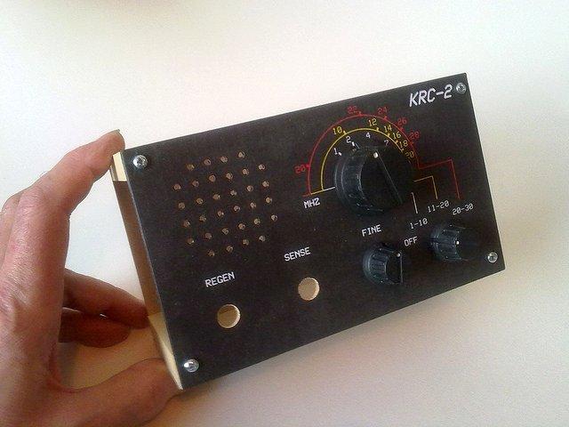 KRC-2 shortwave regenerative receiver kit6