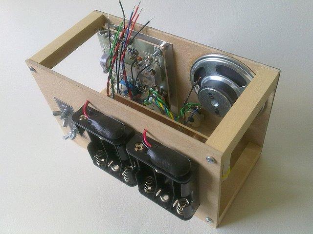 KRC-2 shortwave regenerative receiver kit8