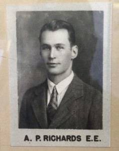 A photo of Dr Richards from the class of 1927.