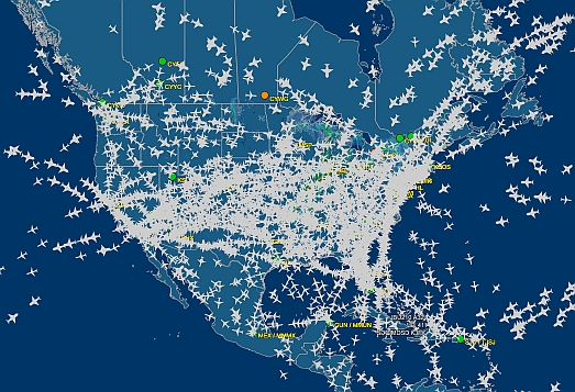 Flight Tracker Map Canada Real time Flight Status And Radar For All US/Canada Flights | The